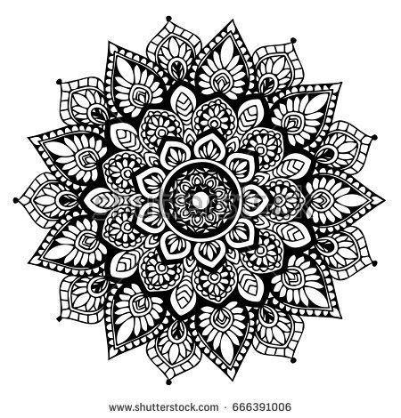 Malvorlage In 2020 Mandalas Zum Ausmalen Mandala Kunstunterricht Mandala Ausmalen