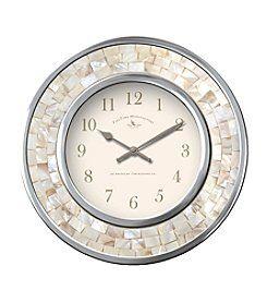 Pin By Jacki Adipietro On Shore Staircase Wall Clock In 2020 Wall Clock Mosaic Wall Clock