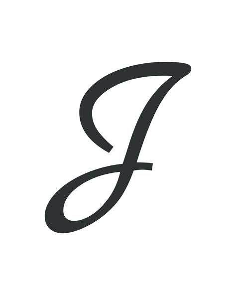 How To Draw A Cursive J : cursive, Cursive