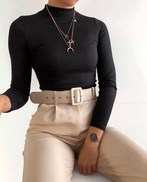 """PAUL VALENTINE on Instagram: """"Life isn't perfect but your outfit can be 😏💃🏽 Babe @paulinenavy got her #OOTD on point wearing the Black Marble rose gold Mesh in 32mm +…"""""""