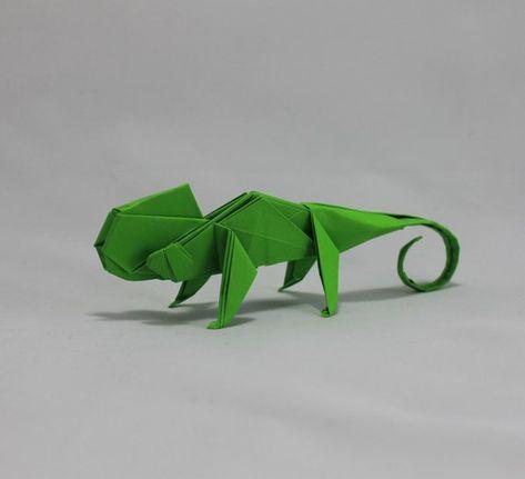 Chameleon - Origami