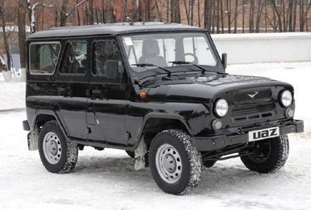 Uaz Hunter Amc Made In Russia East European Cars