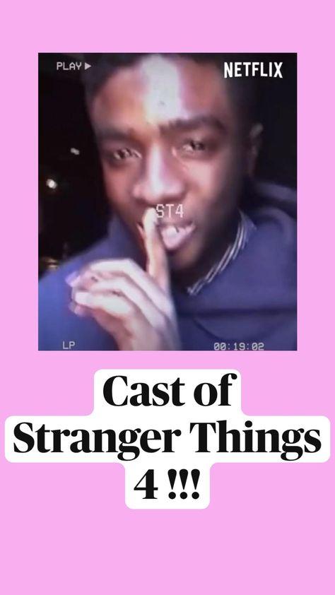 Cast of  Stranger Things  4 !!!
