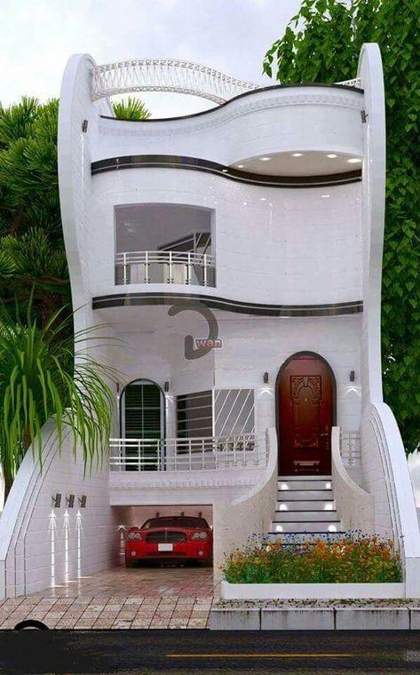 FCB modern unique house design- 4 Bedrooms w/ private guest
