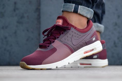 bd87773619 Nike WMNS Air Max Zero Night Maroon/ Atomic-Pink - 857661-600