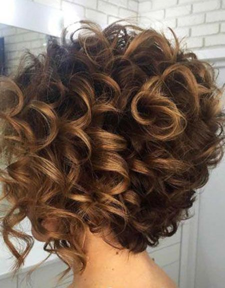 42 Short Curly Hair 201612816 Jpg 450 577 Curly Hair Styles Curly Hair Photos Short Permed Hair
