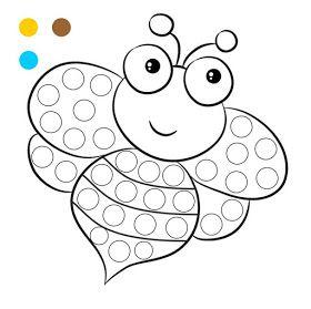 Fichas Imprimibles Para Pintar Con Los Dedos Actividades Para Gomets Hisopos O Bastoncil Actividades De Arte Para Preescolares Actividades Con Pintura Fichas