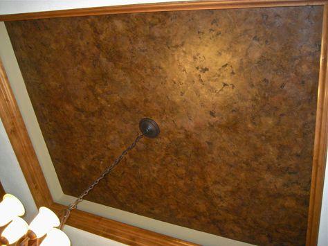 Architecture Design Ideas Faux Painting Crackle Paint Ceiling