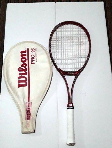 Wilson Pro 95 Super High Beam Series Racquet Red L 3 L 4 3 8 Etsy In 2020 Racquets Vintage Tennis Tennis Racquet