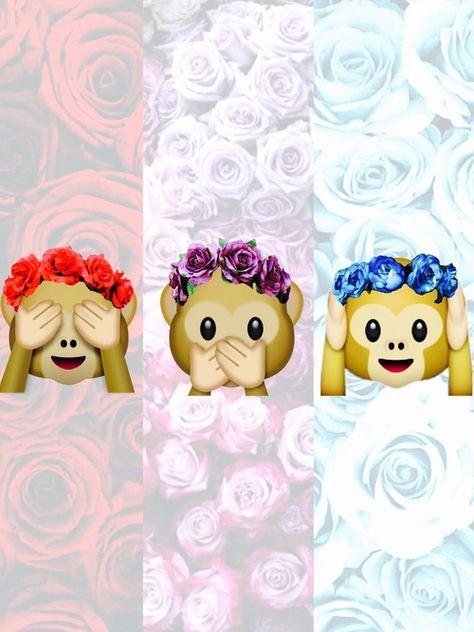 Monkey Emoji Pesquisa Google Letnie Oboi Oboi