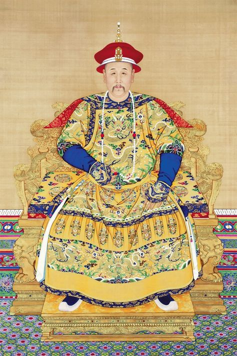 Canvas painting Chinese style traditional painting emperor Yongzheng  by Giuseppe Castiglione Wall Decorative Art decor-in Wall Stickers from Home & Garden on Aliexpress.com | Alibaba Group