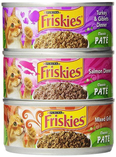 Purina Friskies Classic Pate Wet Cat Food 5 5 Oz Pack Of 24 Cans