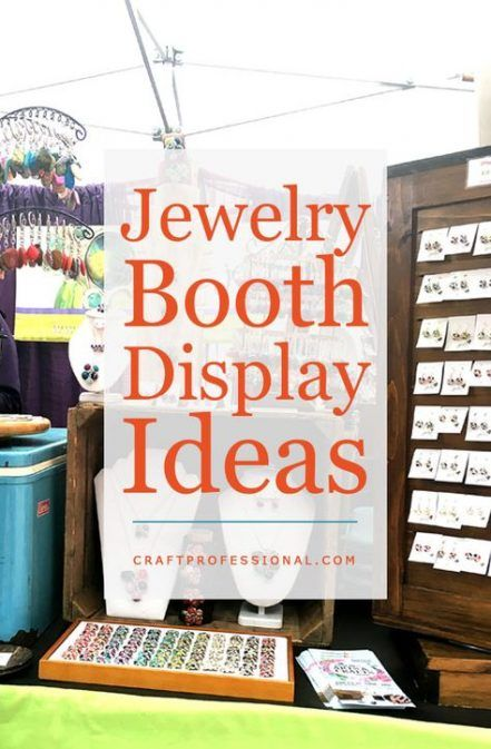 Super Jewerly Display Booth Ideas Outdoor Crafts Ideas Jewerly