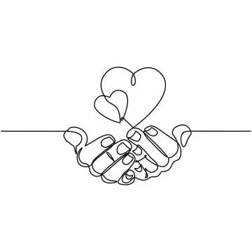 People Holding Hands Continuous Line Drawing Desenhos De Linha Desenho De Linha Desenho De Linha Unica