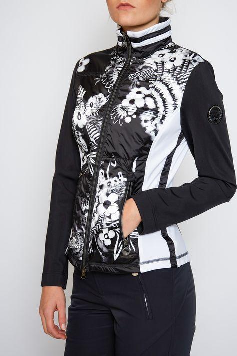 Sportalm Women Humbug Mid Layer Jacket Black   Sportalm