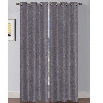 Solid Sheer Grommet Curtain Panels, Shimmer Grommet Curtain Panels