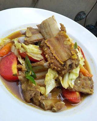 Tongseng Iga Resep Masakan Masakan Simpel Masakan