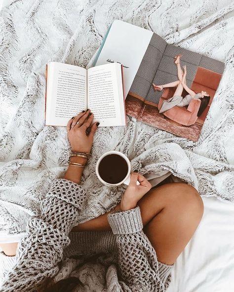 Flatlay photography ideas, laptop, coffee, glasses, bed, model, fashion #flatlayphotography #flatlay #instagram #socialmedia #productphotography | TrueNorthSocial.com