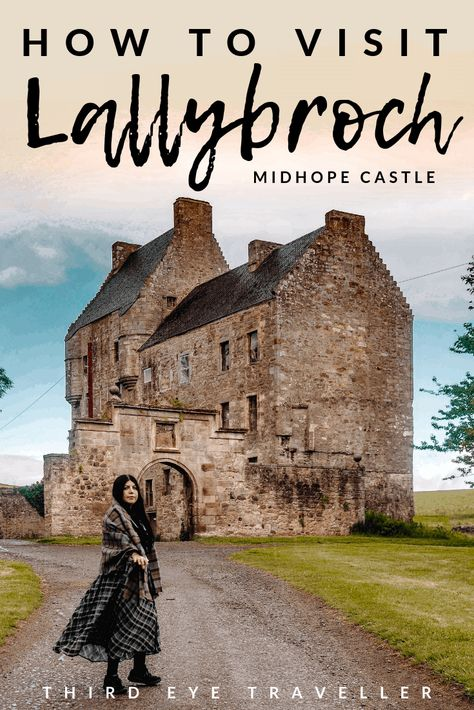 Outlander fans, Lallybroch is a REAL place and can be found at Midhope Castle. I'm giving YOU the key to Lallybroch with this ultimate guide on how to visit Scotland Road Trip, Scotland Vacation, Scotland Travel, Ireland Travel, Italy Travel, Instagram Inspiration, Travel Inspiration, Jamie Fraser, Diana Gabaldon Bücher
