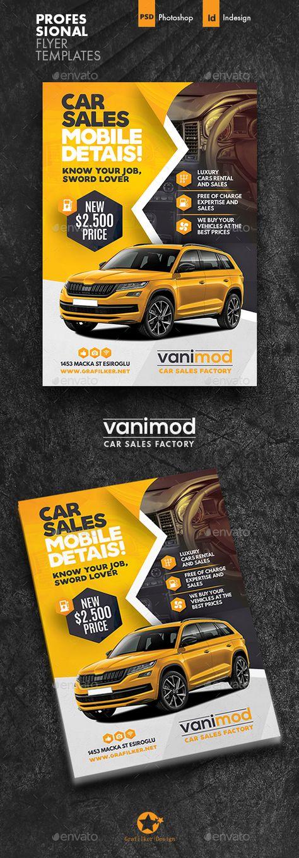 Car Sales Flyer Templates