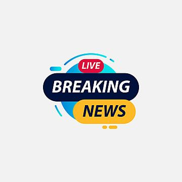 Breaking News Live Label Logo Vector Template Design Illustration Logo Icons Icons News Icons Png And Vector With Transparent Background For Free Download Vector Logo Download Business Card Happy New Year