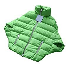 Fensajomon Womens Winter Warm Solid Oversize Down Quilted