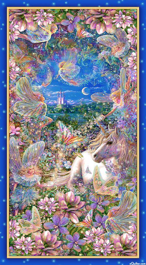 Fairies and Unicorn Sacred Spaces Pillowcase by SacredPillowcase Unicorn And Fairies, Unicorn Art, Kunst Inspo, Art Inspo, Cute But Psycho, Beautiful Fantasy Art, Fantasy Kunst, Fairytale Art, Fairy Art