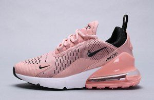 Nike Air Max 270 Shoes Coral Stardust Black Summit White