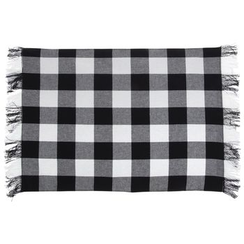 Buffalo Check Fringe Placemat Hobby Lobby 1800408 In 2021 Placemats Fabric Bolts Heavy Duty Furniture