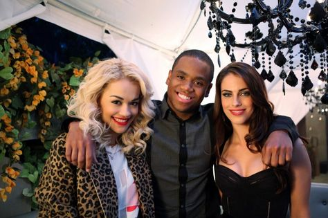 """90210 -- """"Misery Loves Company"""" -- Image: NO510a_0393 Pictured (L-R): -- Rita Ora , Tristan Wilds and Jessica Lowndes -- Photo: Scott Humbert/The CW -- 2012 The CW Network. All Rights Reserved 2012 The CW Network. All Rights Reserved."""