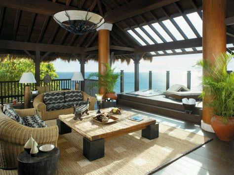 Terraza Trasera Diseñando Mi Casa Muebles De Playa Casa