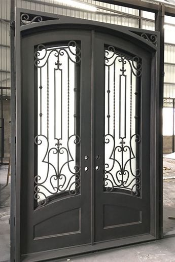 72 X 108 Archives Entry Iron Door Custom Wrought Iron Doors Wholesale Price Iron Doors Iron Door Design Wrought Iron Doors