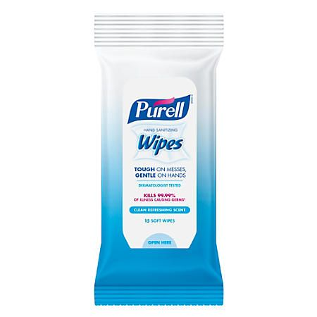Purell Hand Sanitizing Wipes Refreshing Scent