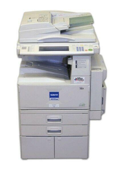 Ricoh Aficio 3030 Black And White Photocopier Ricoh Black And White Black And White Printer Electronic Sorting