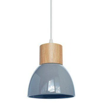 Suspension E14 Design Wilma Ceramique Bleu 1 X 40 W Seynave