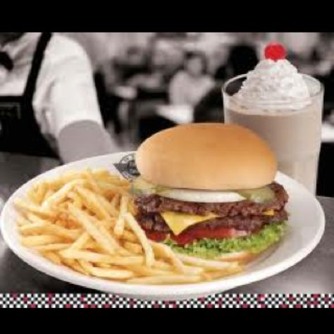 Steak n shake...we used to have one in town and order this...:)