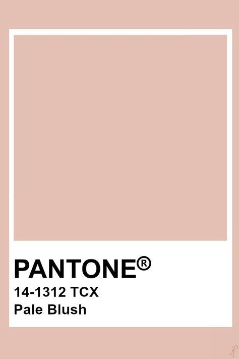 Pantone Pale Blush