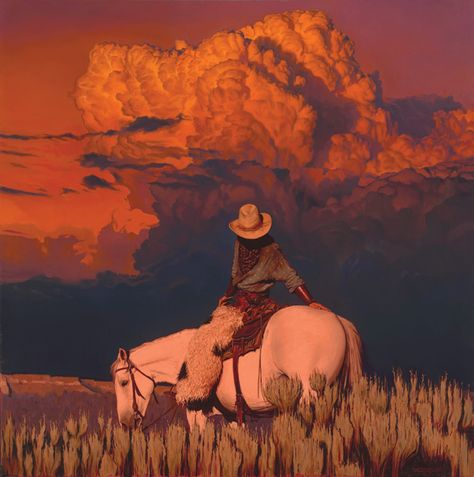 A Fine Art gallery selling original paintings, drawings, and sculptures in Los Angeles. Specializing in contemporary Western Art and contemporary realism. Kunst Inspo, Art Inspo, Foto Cowgirl, Half Elf, Oc Pokemon, Le Vent Se Leve, Wall Collage, Wall Art, Into The West