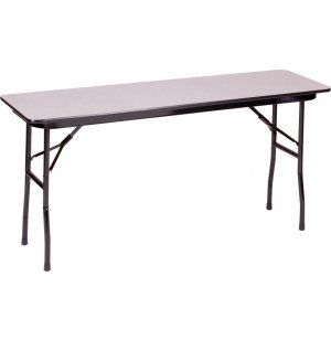 Duralam Top Rectangular Folding Table 72 X18 Table Chair Tips