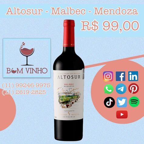 #vinhos #vinhotinto #vinhosespanhoes #vinhosbrasileiros #espumantes #vinhoemcasa #emcasa #secuida #emfamilia #parabebercomamigos #vinhobranco #vinhoverde #lojabomvinho #lojabomvinhofarialima @lojabomvinho