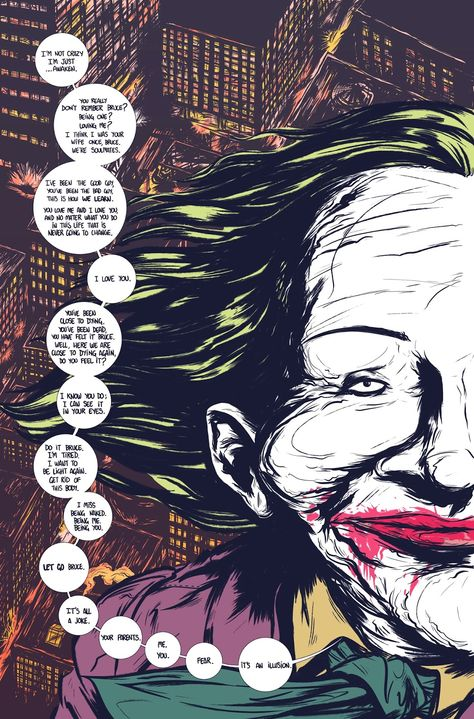 Moonhead Press: Batman: The Deal    This is the most gorgeous comic ever – not only for the art, but for the wonderful and deep message <3