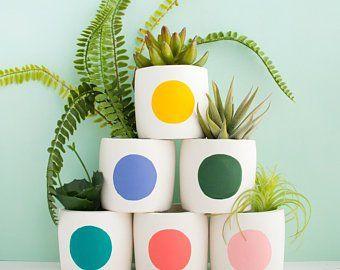 Etsy Gift Guides Decoración Verde Plantas En Maceta Macetas Decoradas