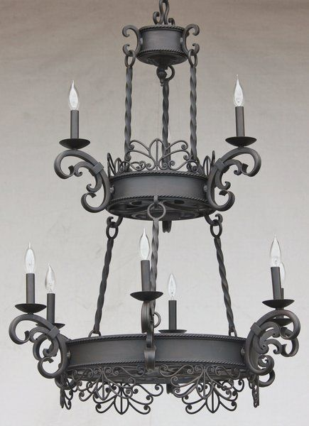 1435 9 Spanish Style Chandelier With Images Spanish Style