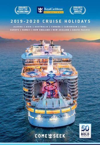 Royal Caribbean Cruise Brochure In 2021 South Pacific Cruise Royal Caribbean Cruise Caribbean Cruise