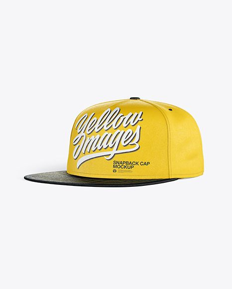 Download Snapback Cap Mockup In Apparel Mockups On Yellow Images Object Mockups Mockup Mockup Psd Design Mockup Free