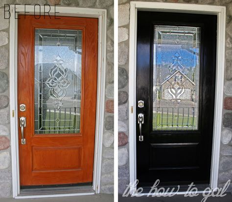 The How-To Gal: How-To Paint Your Front Door #3MDIY