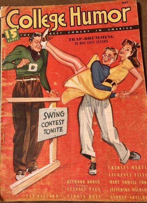 College Humor Magazine, May 1938