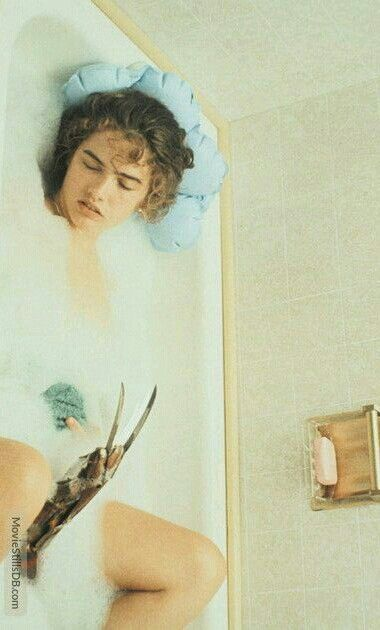 A Nightmare On Elm Street Nancy In Bath Tub Scene With Images