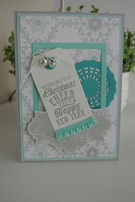 Christmas Messages, Winter Frost Stampin' Up!