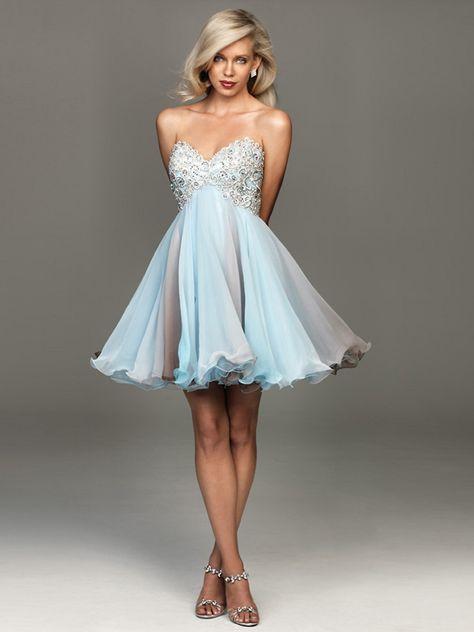 Absorbing White Prom Dresses, Homecoming Dresses Short